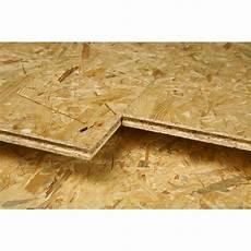 Dalle De Plancher Osb 4 Naturel Ep 22 Mm X L 67 5 X L 250