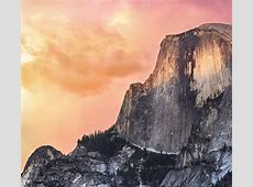 Mac OSX Yosemite Sunset Apple Desktop Wallpaper