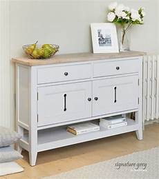 Schmales Sideboard Flur - signature grey small sideboard console shoe storage table