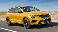 skoda karoq rs planned with more horsepower than kodiaq rs