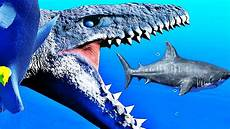 Malvorlagen Jurassic World Virus Je Deviens Le Mosasaure Feed And Grow Fish