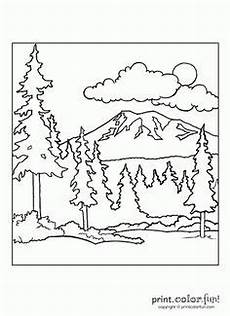wood animals coloring pages 17194 forest coloring page forest coloring pages cing coloring pages preschool coloring pages
