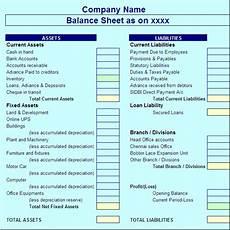 latest balance sheet report template free report templates