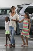 Halle Berry Enjoys Day Out With Daughter Nahla In LA