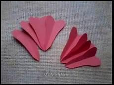 blume aus papier schneiden und falten