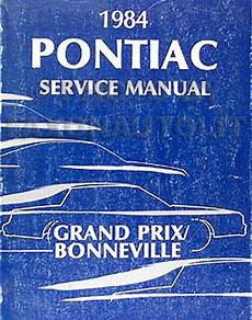 free service manuals online 1984 pontiac grand prix parental controls 1984 pontiac grand prix and bonneville repair shop manual 84 original service ebay