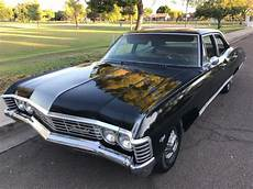 1967 Chevy Impala Four Door Supernatural Black Baby