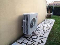 Implantation D Une Pompe 224 Chaleur Air Air Dans Une Maison