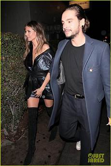 Heidi Klum Goes To Dinner With Tokio Hotel S Tom Kaulitz