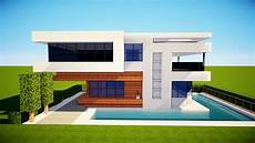 Minecraft How To Build A Small Modern House Tutorial