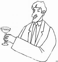 Gratis Malvorlagen Glas Mann Mit Glas 2 Ausmalbild Malvorlage Gemischt