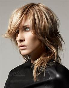 2019 latest shaggy choppy hairstyles
