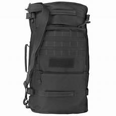 mochila bolso 2 en 1 50 litros en lona militar muy resistente elbunkker
