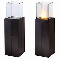 Eco Smart Tower Outdoor Bio Ethanol Fireplace