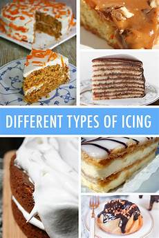 different kinds of icing a comprehensive guide