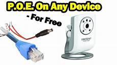 Diy Power Ethernet On Non Poe Devices For Free