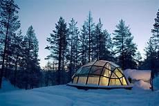 Iglu Hotel Finnland - luxury and living glass igloo hotel kakslauttanen