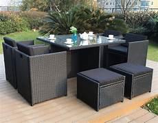 table de jardin 8 place