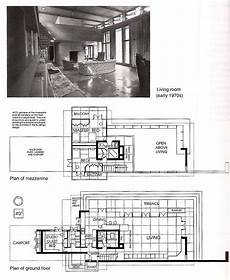frank lloyd wright usonian house plans bachman wilson house plans google search usonian house