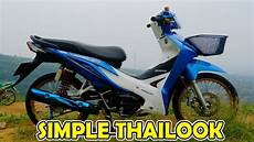 Revo Fit Modif by Review Modifikasi Wave 110i Revo Fit 110 Simple Thailook