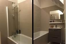 r 233 novation salle de bains repeindre le carrelage plut 244 t