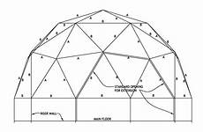 geodome house plans diy geodesic dome home plans
