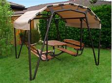 swing table sunset swing 460 picnic table swing sale 2 695 00
