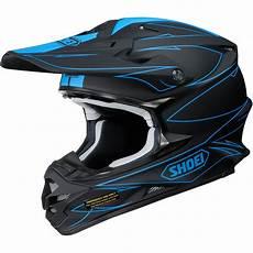 motocross helm schwarz new shoei vfx w mx 2017 hectic tc 2 matte black blue
