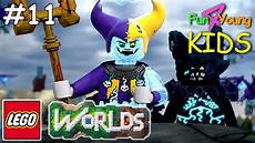 Nexo Knights Jestro Lego Worlds 11 Nexo Knights Jestro Vs Clay