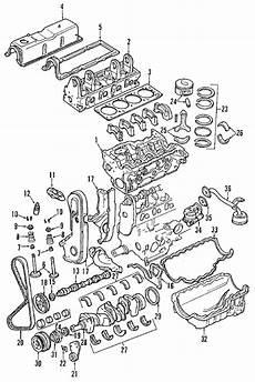 parts 174 mazda engine block b2500 partnumber zzp023800a