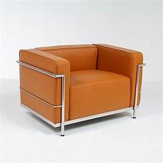 Le Corbusier Lc3 Grande Lounge Chair Reproduction Modern