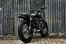 Yamaha Scorpio Modif Classic by Modifikasi Motor Yamaha Scorpio The Smokey Scrambler