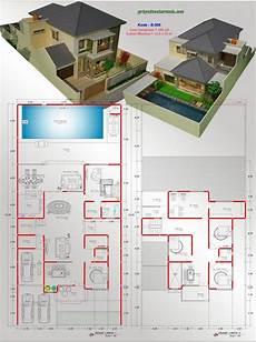 Kumpulan 48 Desain Rumah Kecil Kolam Renang Terupdate