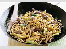 hokkien noodle with seared prawns_image