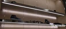 mensole luminose alu h led per mobili certificati ul made in