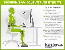 ergonomie am arbeitsplatz karriere at