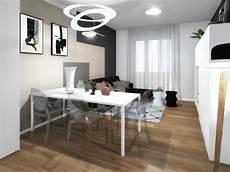 tappezzeria da parete come arredare la parete dietro tavolo e divano definendo