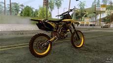 Yamaha Yzf 250 Motocross For Gta San Andreas