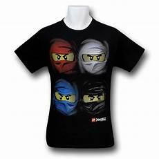 T Shirt Malvorlagen Kostenlos Ninjago Ninjago Four Faces T Shirt