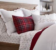 scalloped dot embroidered organic percale duvet cover