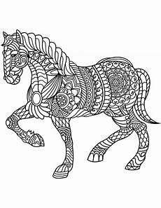 horse coloring pages for adults adult coloring pages