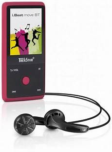 mp3 player kaufen trekstor mp3 player 187 i beat move bt 8gb rubine