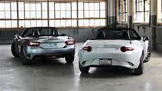 Miata Vs Fiat 124 by Fiat 124 Spider Vs Mazda Mx 5 Miata Sibling Rivalry