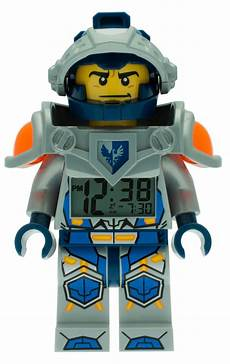 lego 174 nexo knights clay minifigure alarm clock 5005115