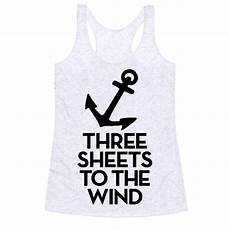 sheets to the wind three sheets to the wind racerback tank human