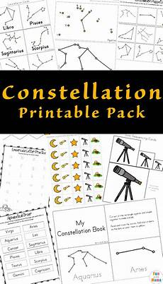constellation patterns worksheets 62 constellation printable pack