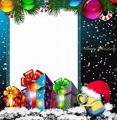 merry christmas png minion photo frame gallery yopriceville high quality images and