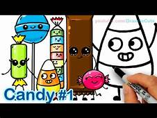How To Draw Candy Corn – Kids YouTube