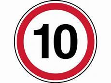 Panneau D Interdiction De Parking Vitesse Limit 233 E 224 10 Km