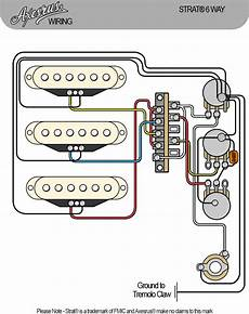 Axesrus Stratocaster Wiring Loom 6 Way